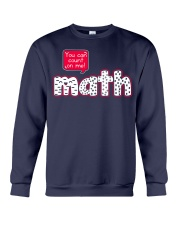 YOU CAN COUNT ON ME MATH Crewneck Sweatshirt thumbnail