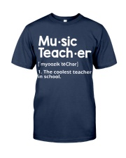Music Teacher  Classic T-Shirt tile