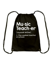 Music Teacher  Drawstring Bag tile