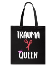 Trauma Queen Tote Bag front