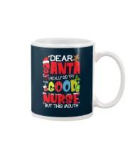 DEAR SANTA I REALLY DID TRY TO BE A GOOD NURSE Mug thumbnail