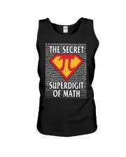THE SECRET SUPERDIGIT OF MATH Unisex Tank thumbnail