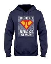 THE SECRET SUPERDIGIT OF MATH Hooded Sweatshirt thumbnail
