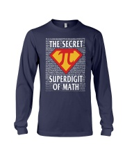 THE SECRET SUPERDIGIT OF MATH Long Sleeve Tee thumbnail