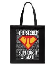 THE SECRET SUPERDIGIT OF MATH Tote Bag thumbnail
