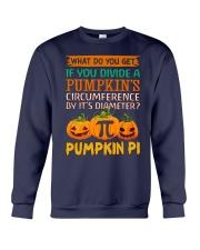 Math Pumpkin Pi Crewneck Sweatshirt thumbnail