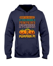 Math Pumpkin Pi Hooded Sweatshirt thumbnail