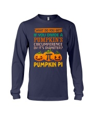 Math Pumpkin Pi Long Sleeve Tee thumbnail