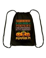 Math Pumpkin Pi Drawstring Bag thumbnail