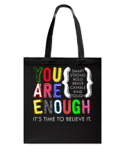 You are Enough Tote Bag thumbnail