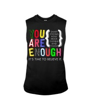 You are Enough Sleeveless Tee thumbnail