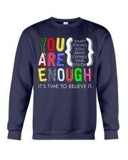 You are Enough Crewneck Sweatshirt thumbnail