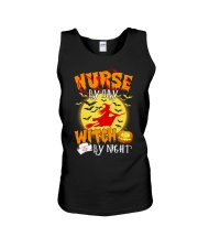 NURSE BY DAY WITCH BY NIGHT Unisex Tank thumbnail