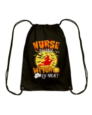 NURSE BY DAY WITCH BY NIGHT Drawstring Bag thumbnail