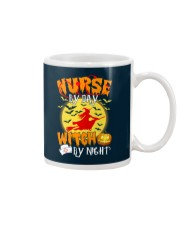 NURSE BY DAY WITCH BY NIGHT Mug thumbnail