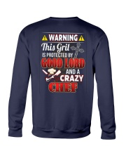 Crazy Chef Crewneck Sweatshirt thumbnail