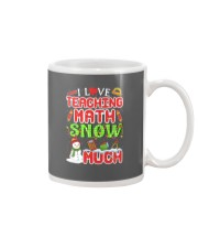 I LOVE TEACHING MATH SNOW MUCH Mug thumbnail