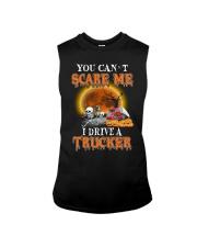 I Drive A Trucker Sleeveless Tee thumbnail