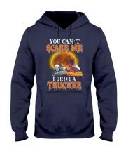 I Drive A Trucker Hooded Sweatshirt thumbnail