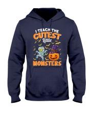 I TEACH THE CUTEST LITTLE MONSTERS Hooded Sweatshirt thumbnail
