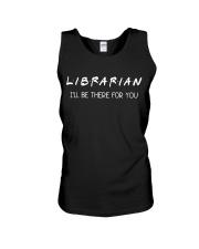 Librarian Unisex Tank thumbnail