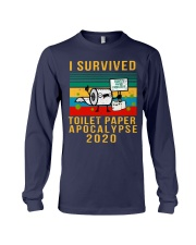 I survived toilet paper Long Sleeve Tee thumbnail