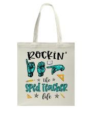 Sped Teacher Life Tote Bag thumbnail