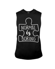 NORMAL IS BORING Sleeveless Tee thumbnail
