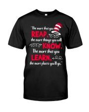 Teacher Shirt Classic T-Shirt front