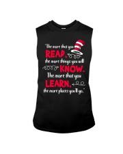Teacher Shirt Sleeveless Tee thumbnail