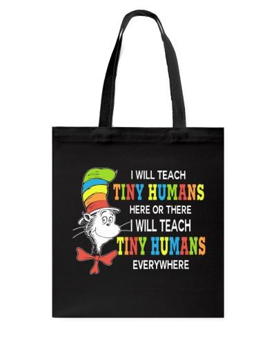 I will teach Tiny Humans everywhere