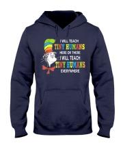 I will teach Tiny Humans everywhere Hooded Sweatshirt thumbnail