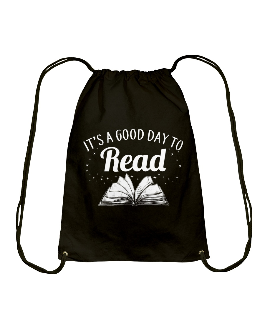 It's a good day to Read Drawstring Bag