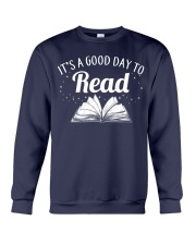 It's a good day to Read Crewneck Sweatshirt thumbnail