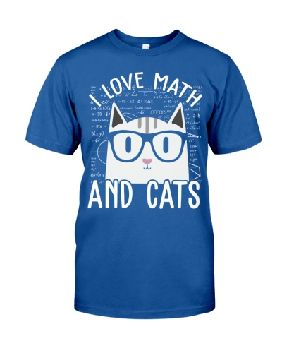 I LOVE MATH AND CATS
