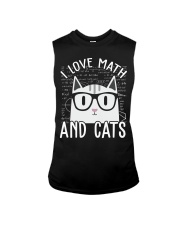 I LOVE MATH AND CATS Sleeveless Tee thumbnail