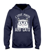 I LOVE MATH AND CATS Hooded Sweatshirt thumbnail