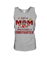Just a Mom who raised a Firefighter Unisex Tank thumbnail