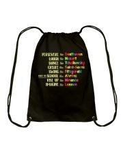 Music Teacher Shirt Drawstring Bag thumbnail