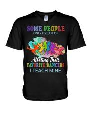 Favorite Dancers V-Neck T-Shirt thumbnail