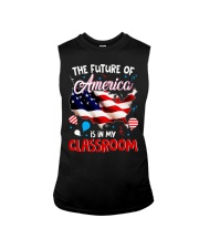 THE FUTURE AMERICA IS IN MY CLASSROOM Sleeveless Tee thumbnail
