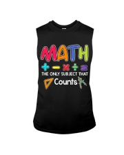 Math The only subject that counts Sleeveless Tee thumbnail