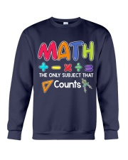Math The only subject that counts Crewneck Sweatshirt thumbnail
