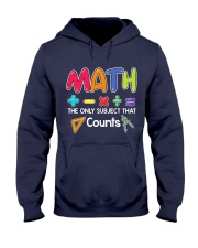 Math The only subject that counts Hooded Sweatshirt thumbnail