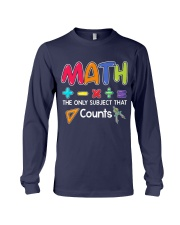 Math The only subject that counts Long Sleeve Tee thumbnail