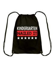 Kindergarten Nailed it Drawstring Bag thumbnail