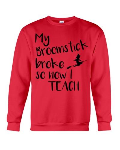 My Broomstick broke so now I teach