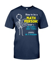 How to be a Math Person Classic T-Shirt tile