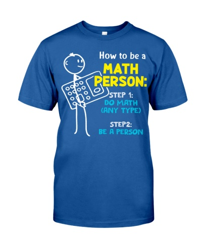 How to be a Math Person