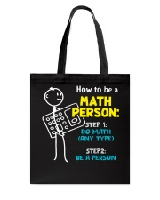 How to be a Math Person Tote Bag thumbnail